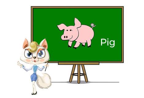 Pets pig