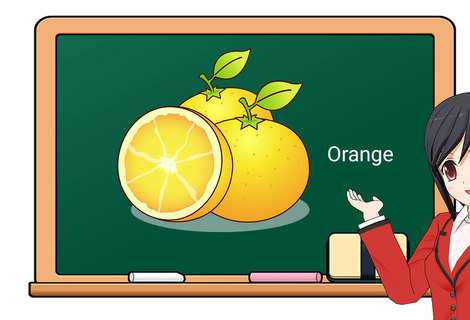 Teacher orange