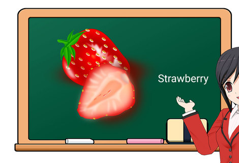 Teacher strawberry