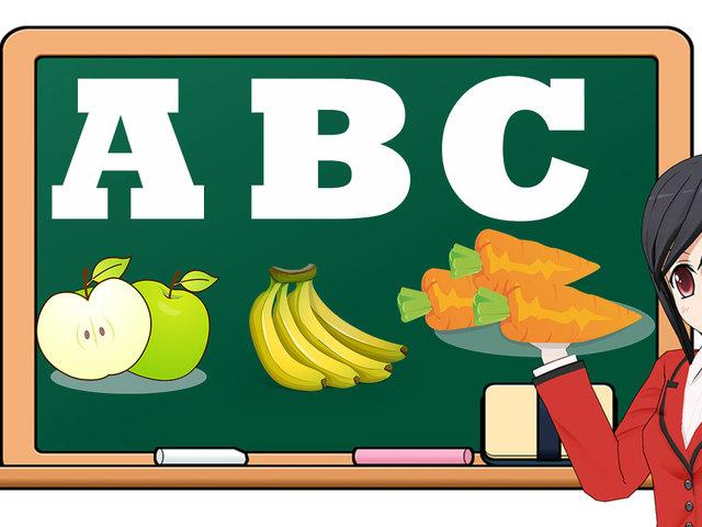 Teacher fruit banner