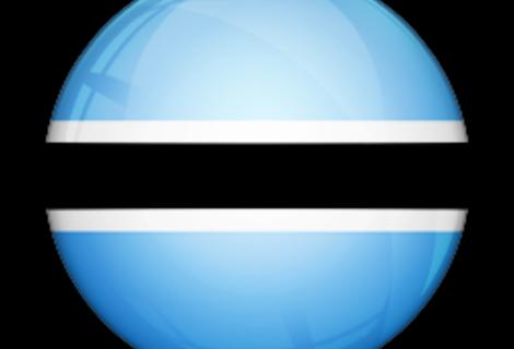 Flag of bostswana