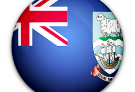 Flag of falkland islands islas malvinas