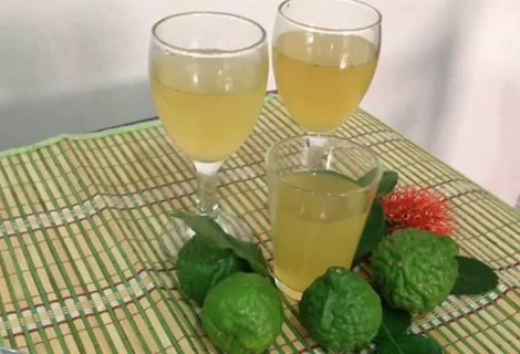 Kaffir lime juice